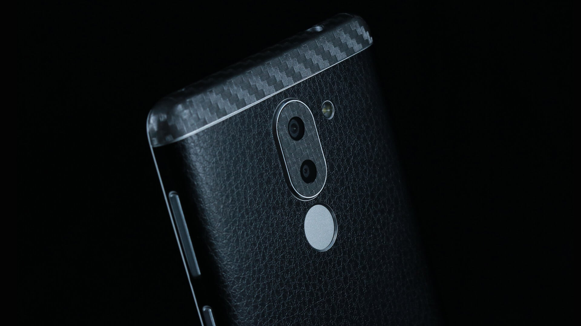 Honor 6X Black Leather Skins