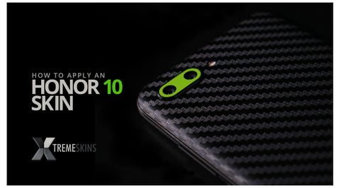How to apply an Honor 10 skin