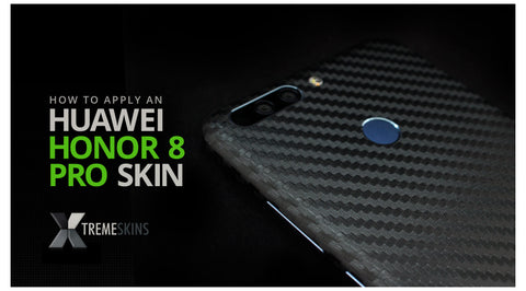 How to apply an Honor 8 Pro skin