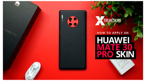 How to apply an Huawei Mate 30 Pro Skin