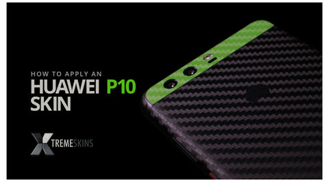 How to apply an Huawei P10 skin