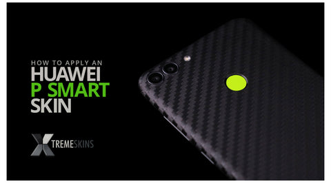 How to apply an Huawei P Smart skin