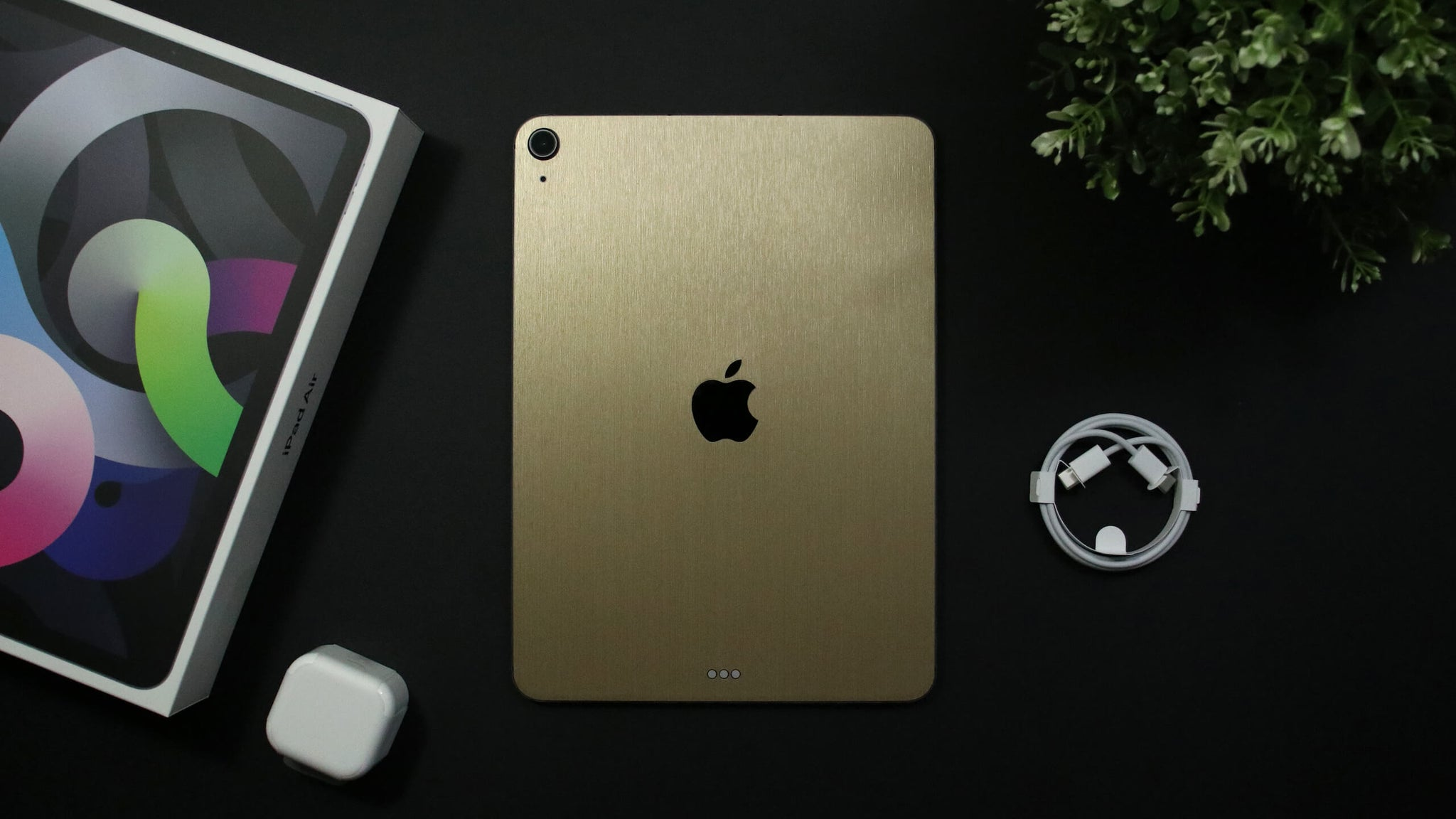 "iPad Air 11"" (2020, Gen 4) Brushed Gold Skins"