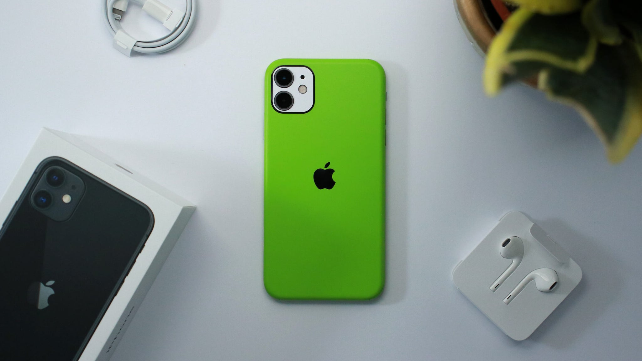 iPhone 11 Matt Green Skins