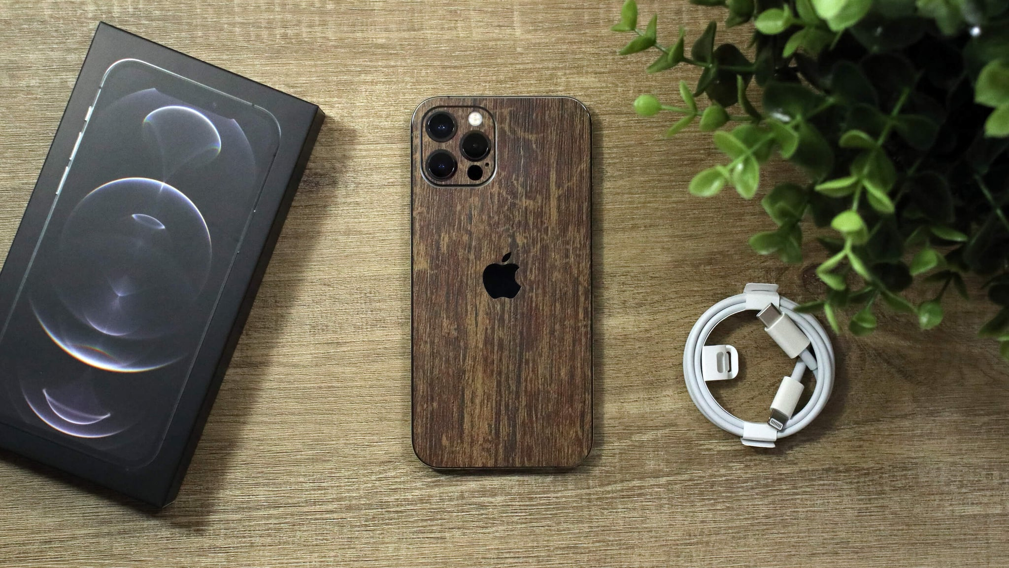 iPhone 12 Pro Aged Oak Skins