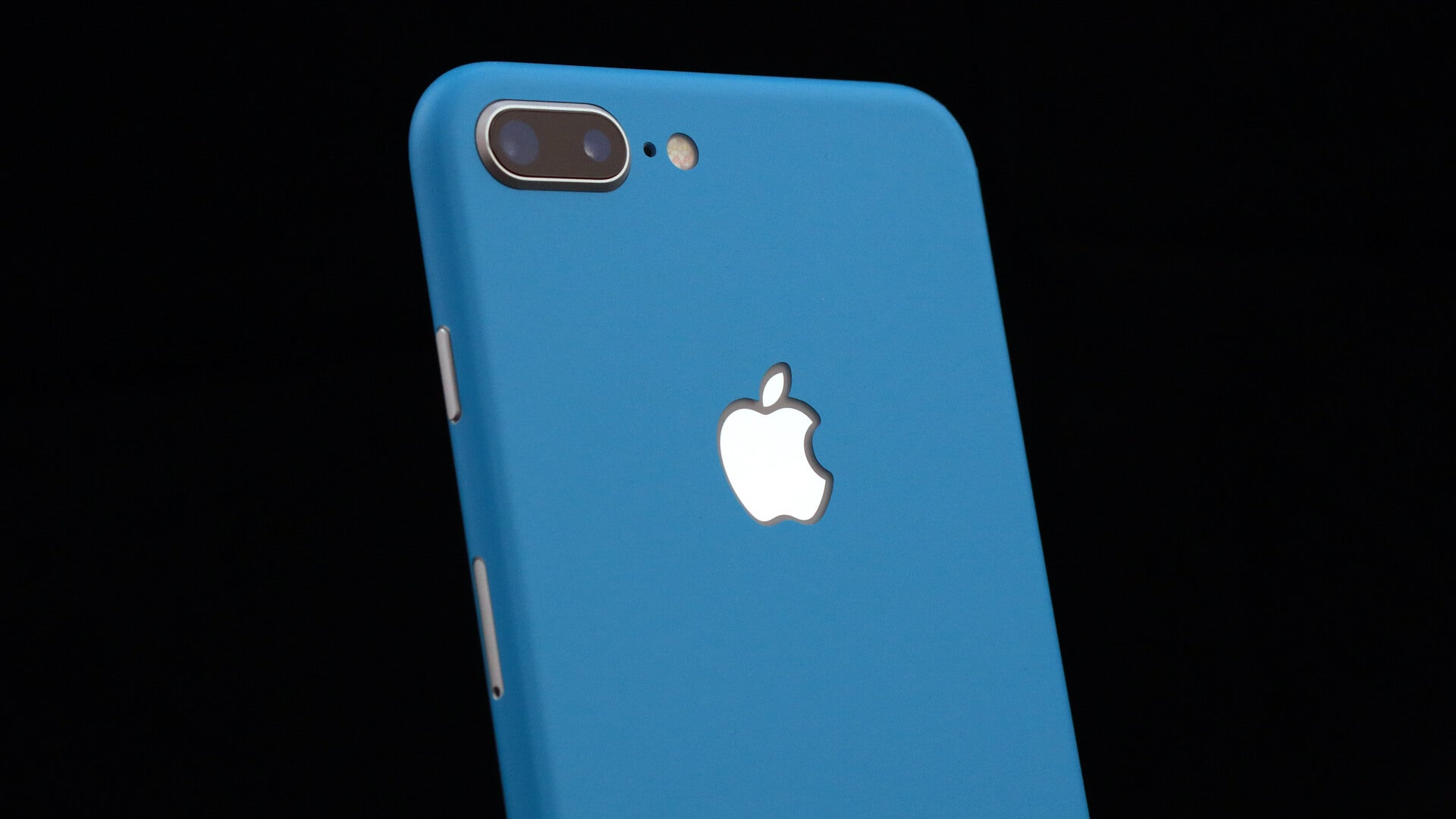 iPhone 8 Plus Matt Blue Skins