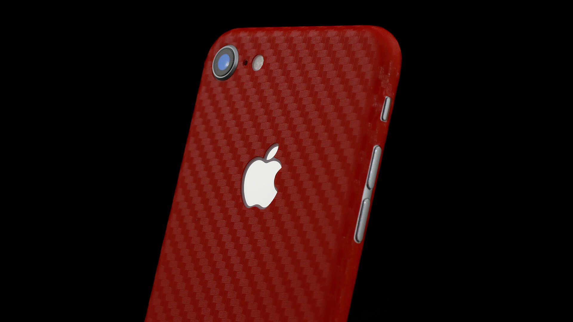 iPhone 8 Red Carbon Skins