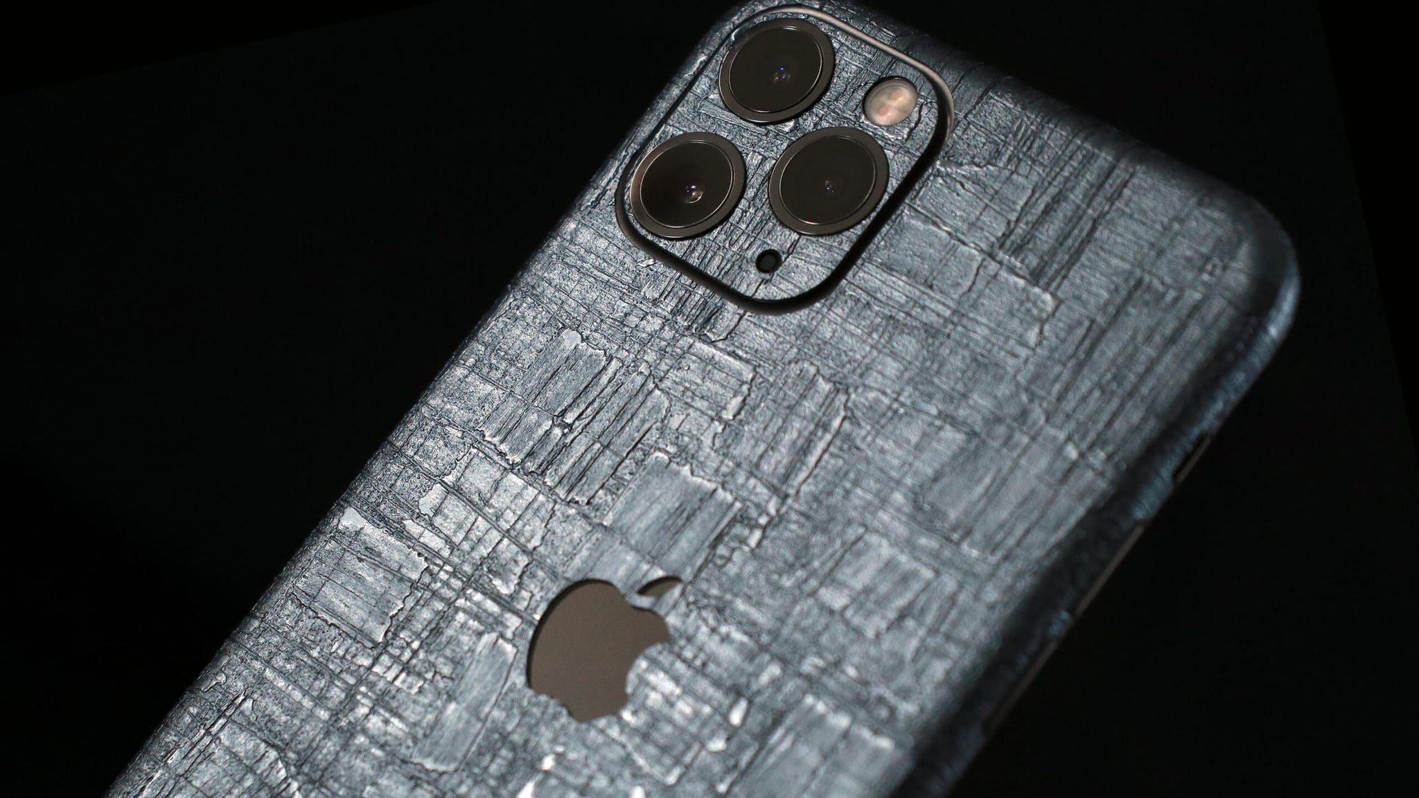 iPhone 11 Pro Carved Charcoal Skins