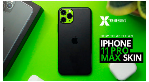 How to apply an iPhone 11 skin