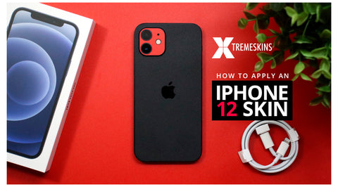 How to apply an iPhone 12 skin