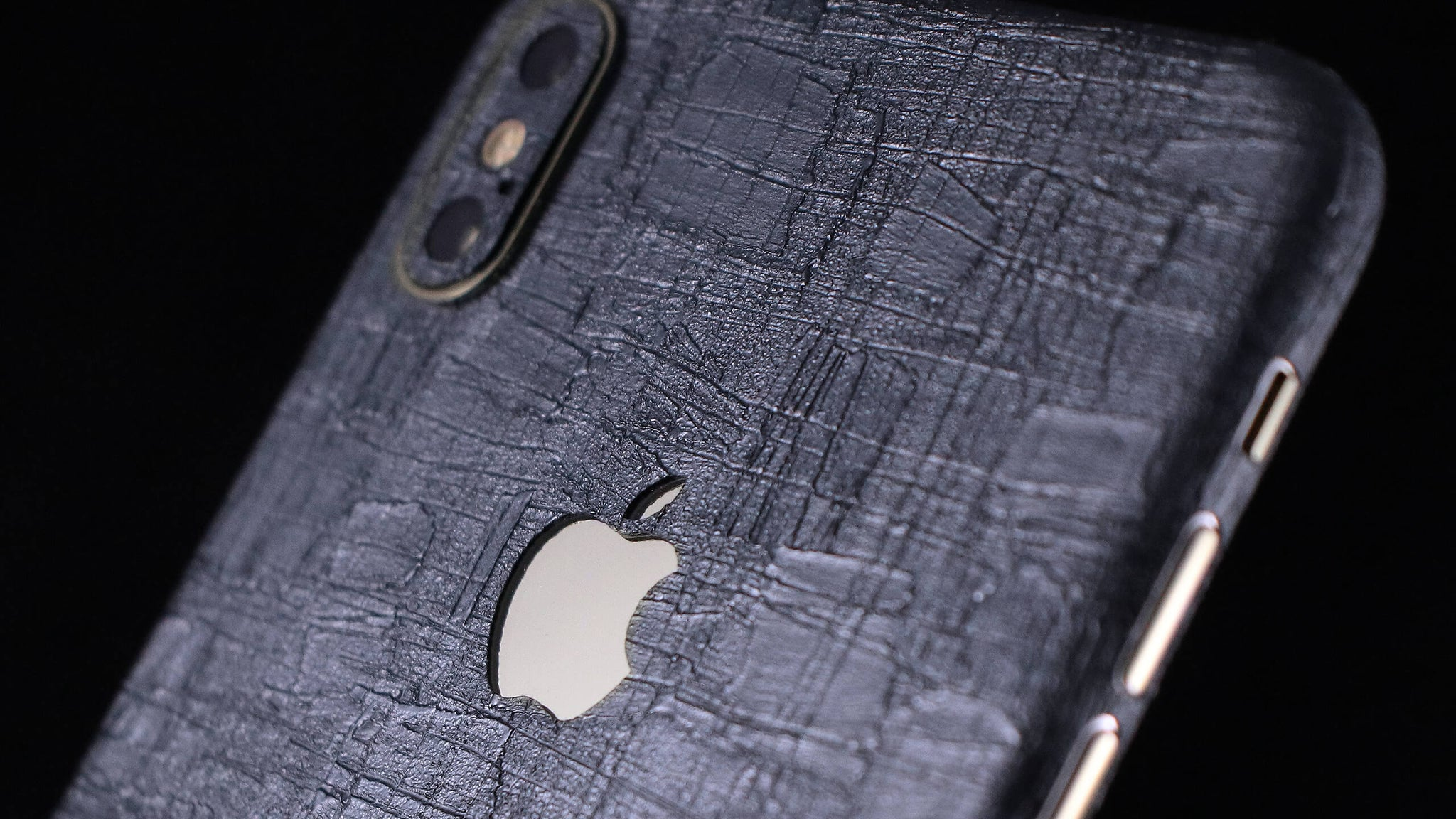 iPhone XS Max Carved Charcoal skin