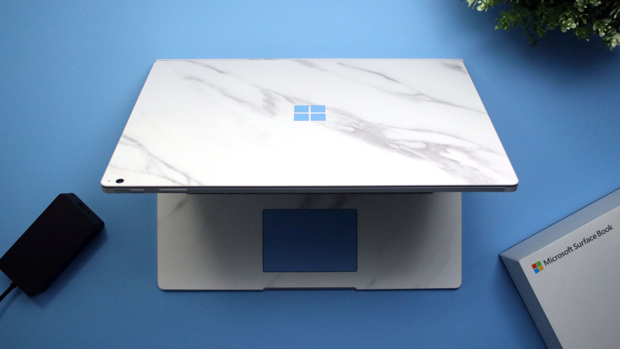 Microsoft Surface Book 2 15-inch i7 White Marble Skins