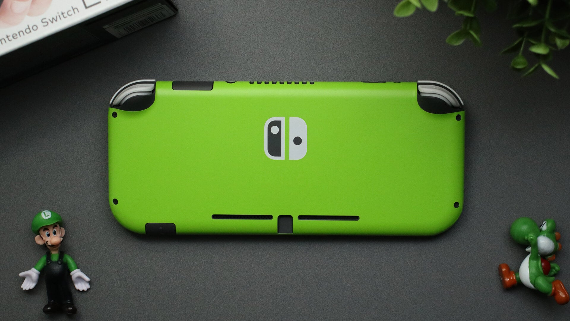Nintendo Switch Lite Matt Green Skins
