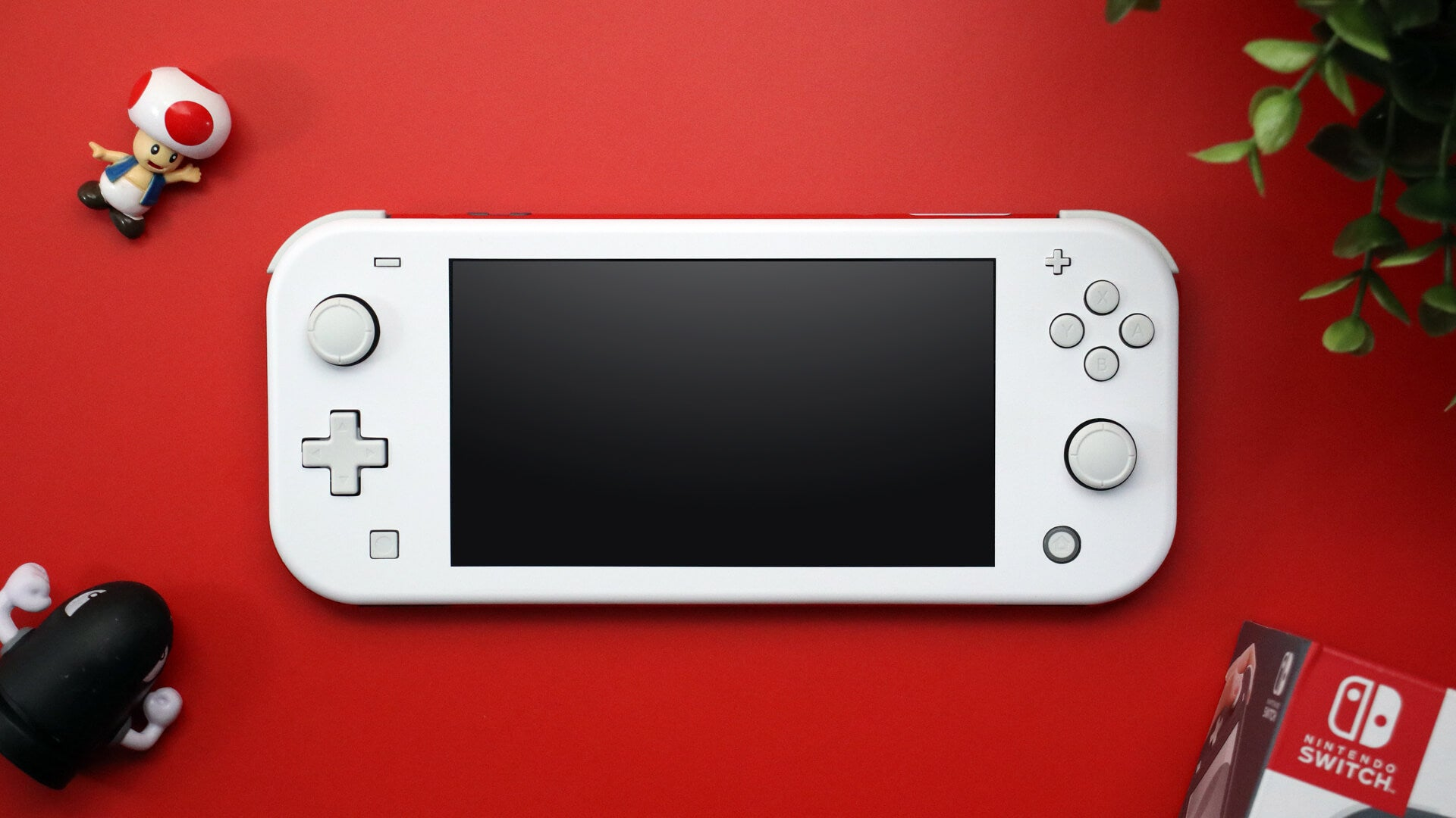 Nintendo Switch Lite Matt White Skins