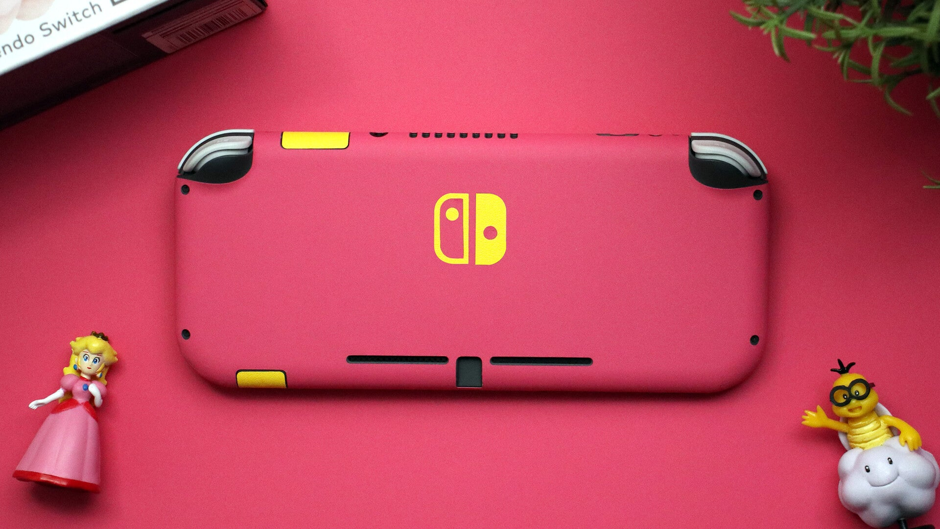 Nintendo Switch Lite Textured Matt Pink Skins