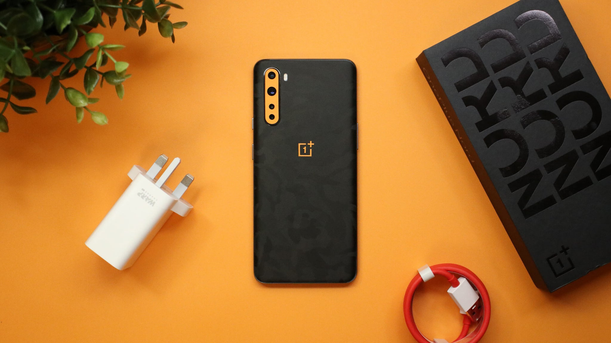 OnePlus Nord Black Camo Skins