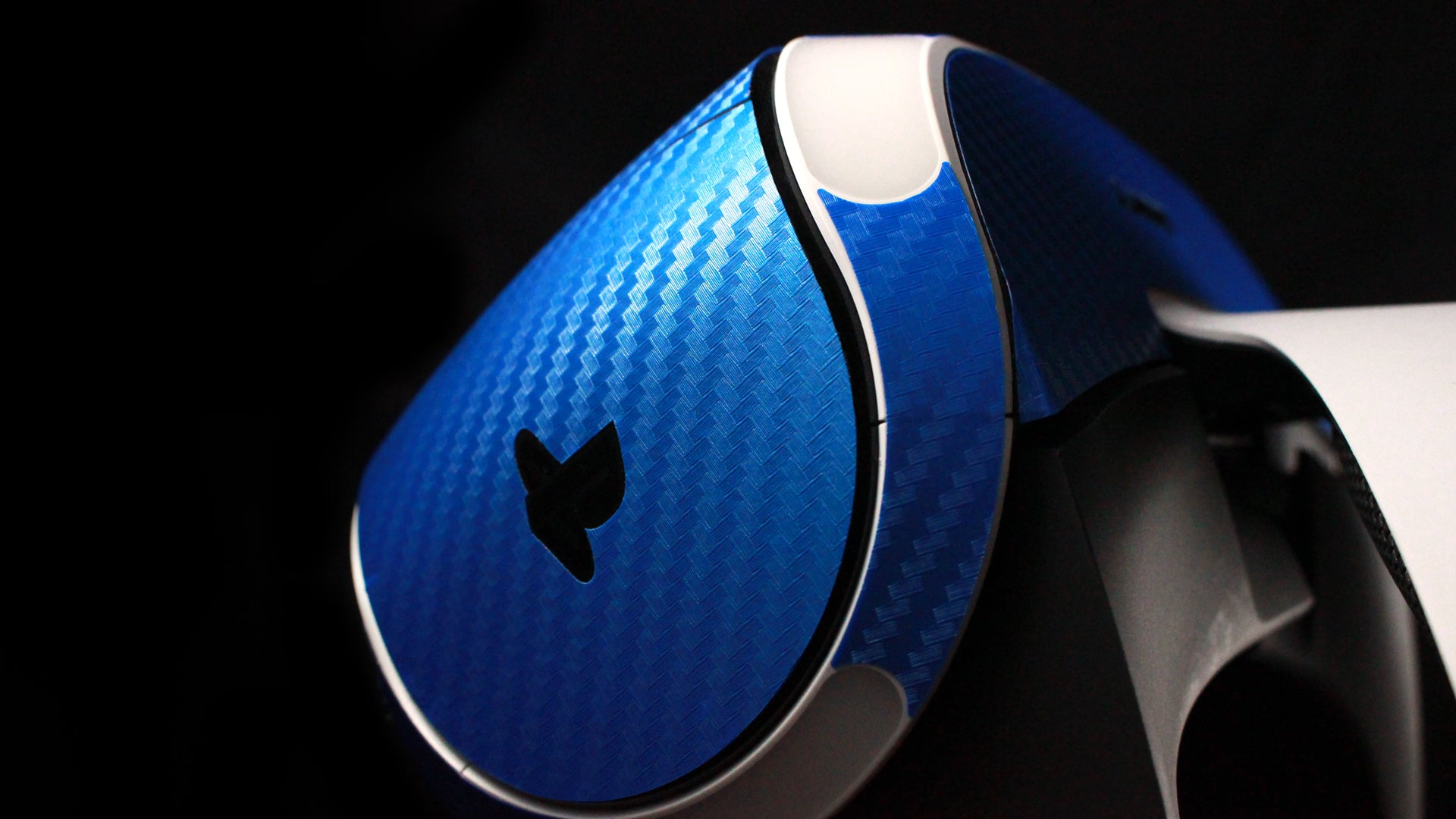 PlayStation VR Blue Carbon Skins