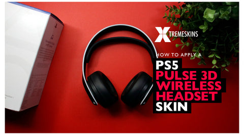 How to apply a PS5 Pulse 3D Wireless Headset skin
