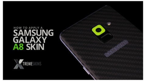 How to apply a Samsung Galaxy A8 skin