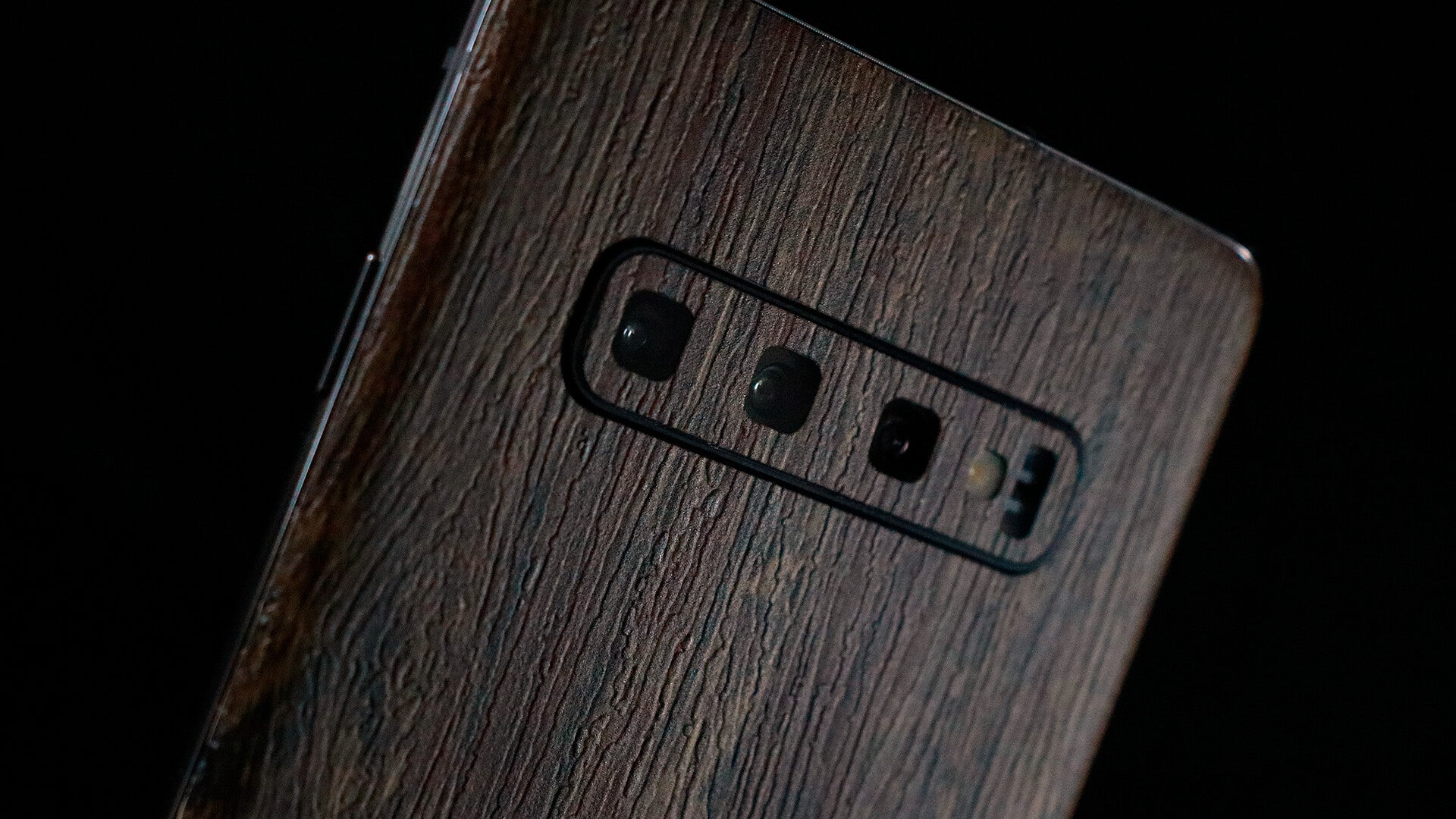 Samsung Galaxy S10 Plus Aged Oak Skins