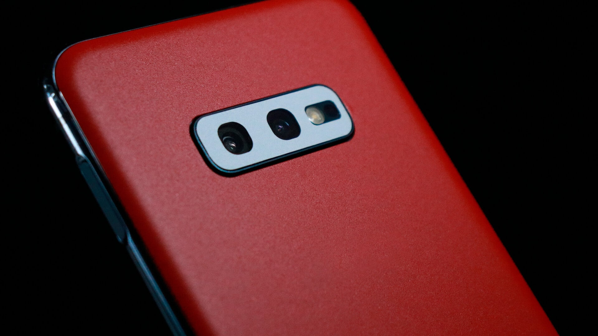 Samsung Galaxy S10e Matt Red Skins