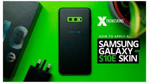 How to apply a Samsung Galaxy S10e skin