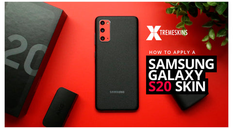 How to apply a Samsung Galaxy S20 skin
