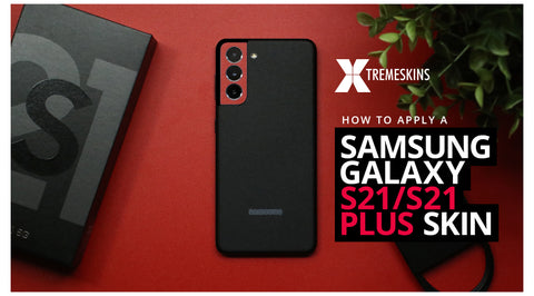 How to apply a Samsung Galaxy S21/S21 Plus skin