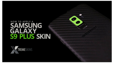 How to apply a Samsung Galaxy S9 Plus skin