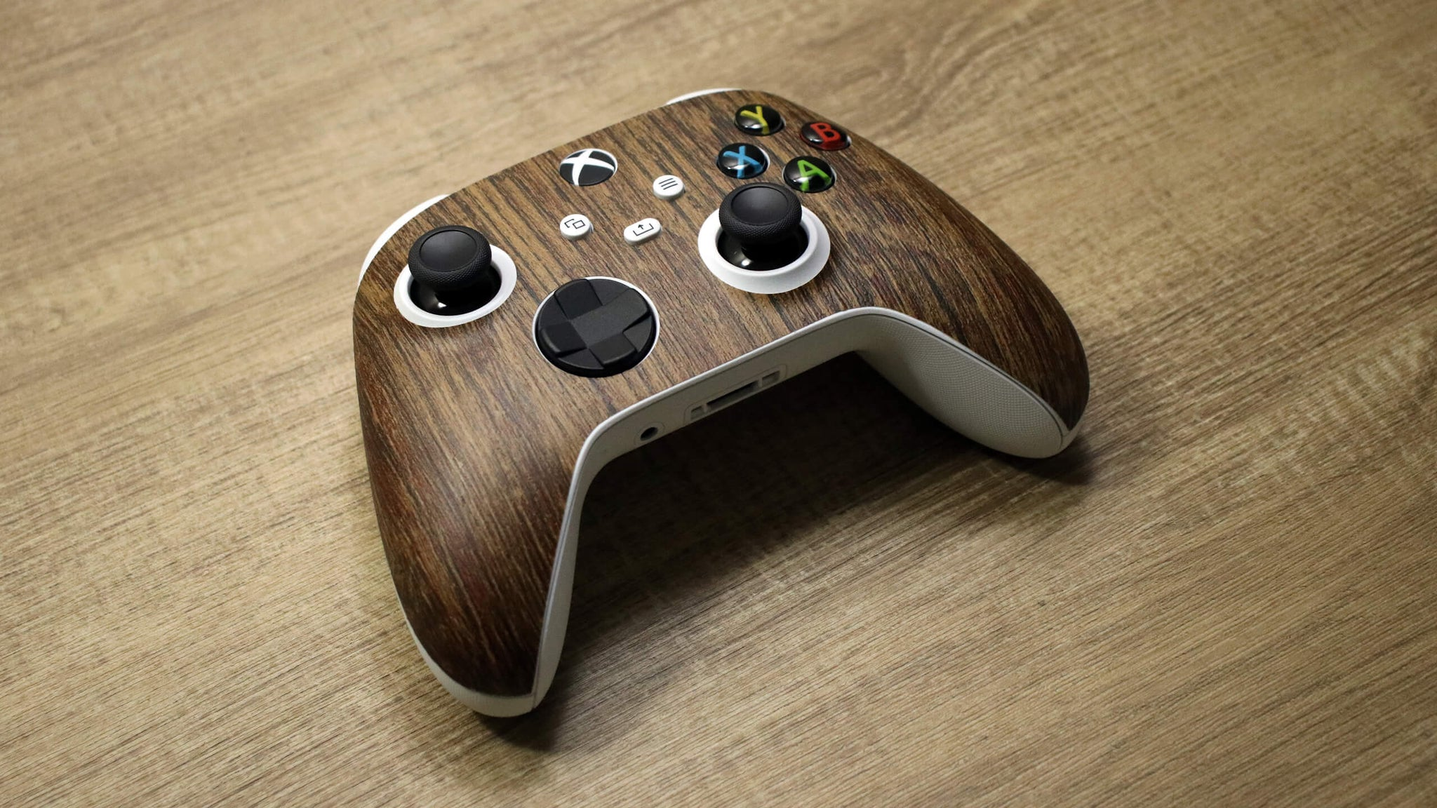 Xbox Series S Controller Aged Oak Skins