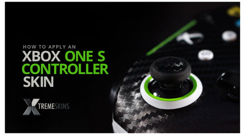 How to apply an Xbox One S Controller skin