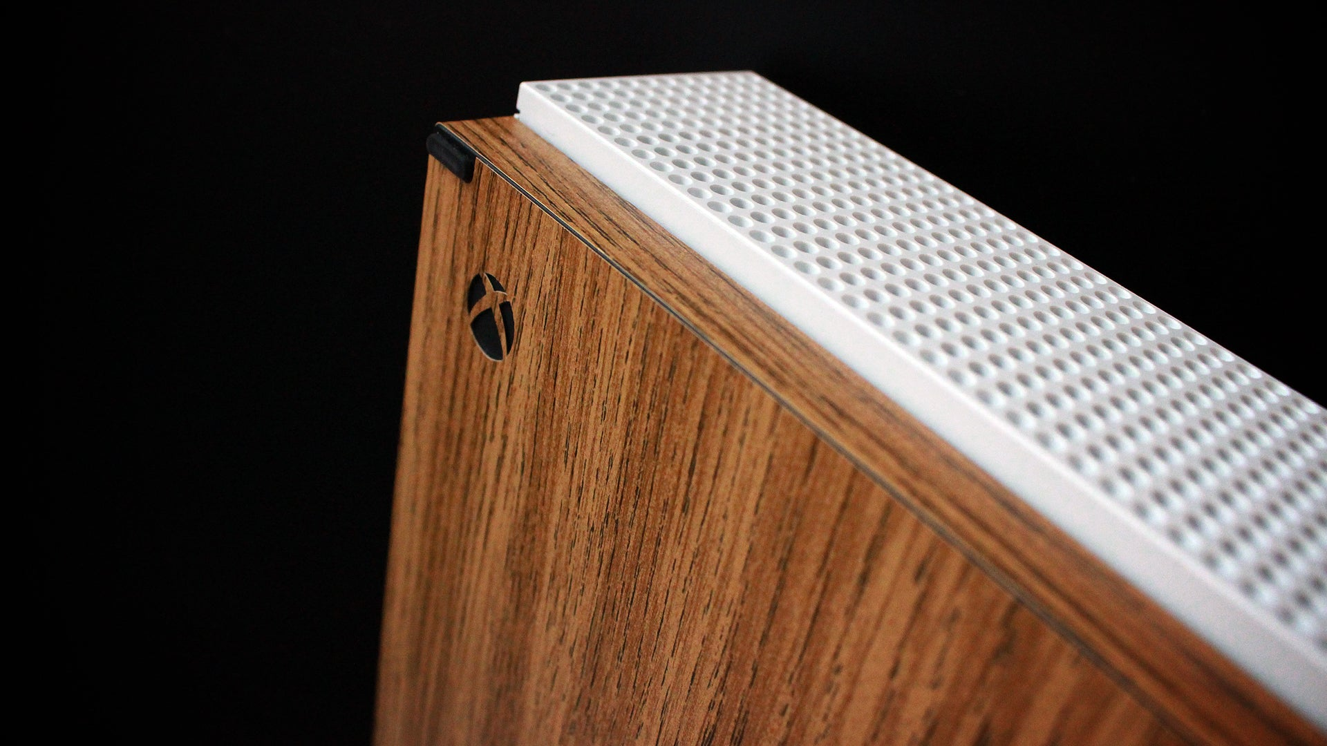 Xbox One S Light Oak Wood Skins