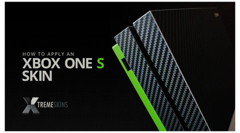 How to apply an Xbox One S skin
