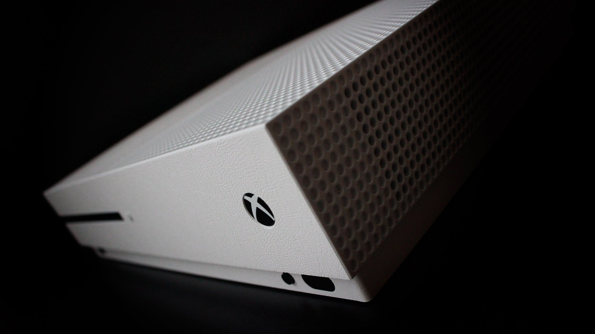 Xbox One S White Leather Skin