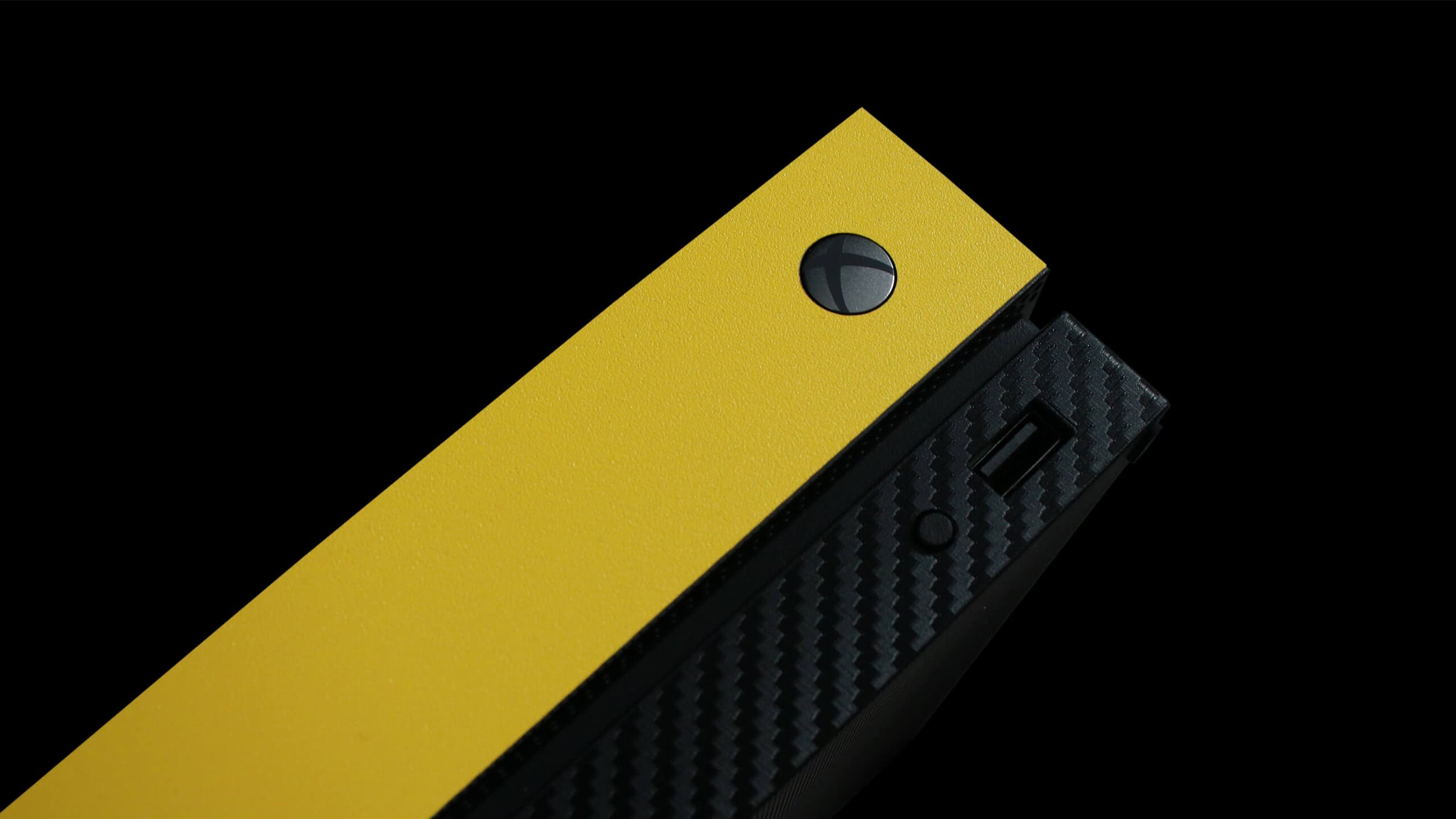 Xbox One X True Colour Yellow Skins