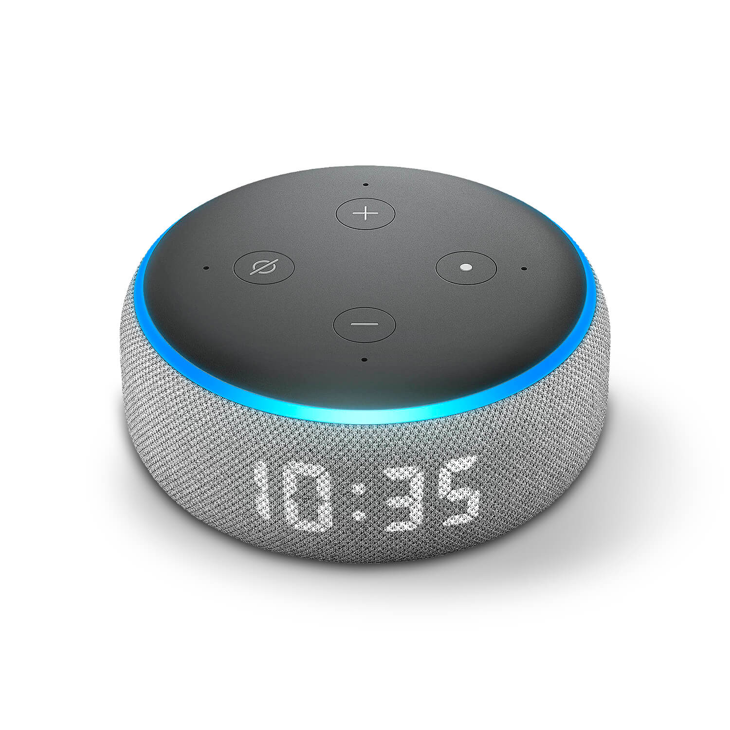 Amazon Echo Dot (3rd Gen) Skins (with clock)