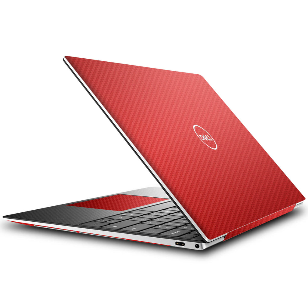 Dell XPS 13 (9310) Red Carbon Fibre Skins