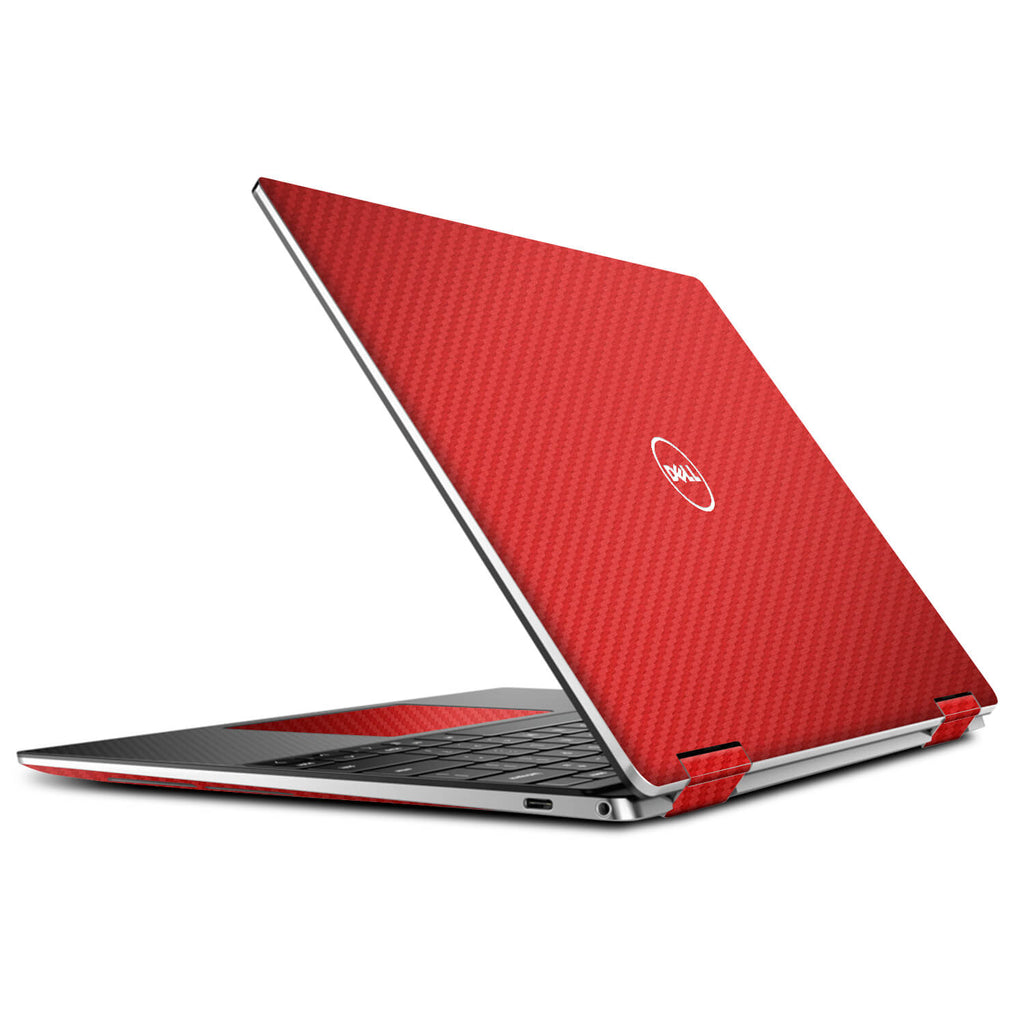 Dell XPS 13 2-in-1 (9310) Red Carbon Fibre Skins