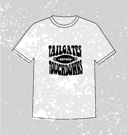 TAILGATES BLEACHED - BLACK
