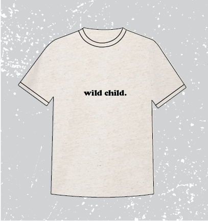 WILD CHILD TRIBLEND TEE