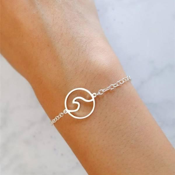 Bracelet Vague <br> Flails (Acier)
