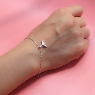 Bracelet Queue de Baleine <br> Tail (Argent)