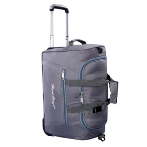 Hard Craft Premium Light Weight Cabin Size Trolley Bag Duffel trolley Bag - Grey