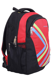 Hard Craft Backpack 15inch Laptop Backpack Lightweight - Red