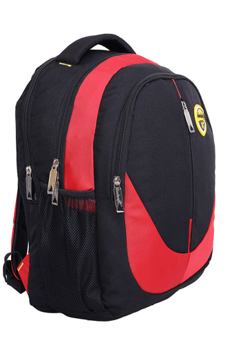 Hard Craft Backpack 15inch Laptop Backpack M-Zip Lightweight - Red