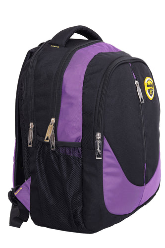 Hard Craft Backpack 15inch Laptop Backpack M-Zip Lightweight - Purple