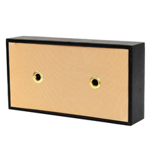 Load image into Gallery viewer, Hard Craft Leather Finish Tissue Box - Black