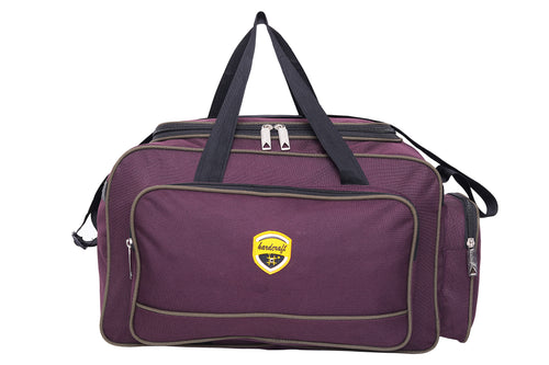Hard Craft Lightweight Waterproof Luggage Travel Bag - Purple