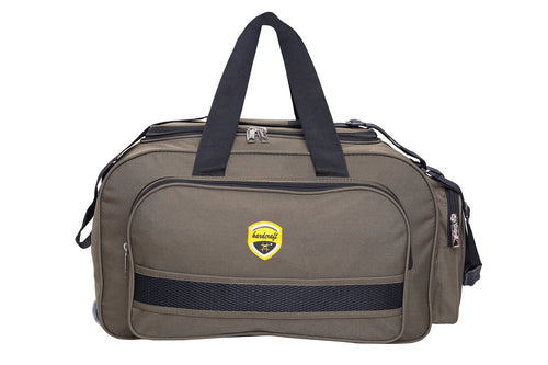 Hard Craft Lightweight Waterproof Luggage Travel Duffel Bag with Wheels - Light Green