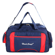 Load image into Gallery viewer, Hard Craft Large Size Waterproof Luggage Travel Duffel Bag with Wheels - Blue Red